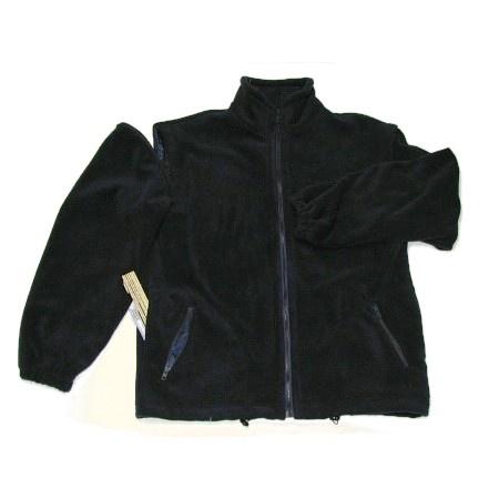 Bluza polarowa z odpinanymi rękawami i z haftem komputerowym