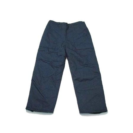 Spodnie ocieplane z haftem komputerowym
