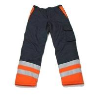 Spodnie ocieplane wodoodporne z haftem komputerowym