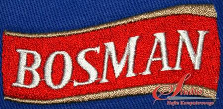Bosman - haft komputerowy