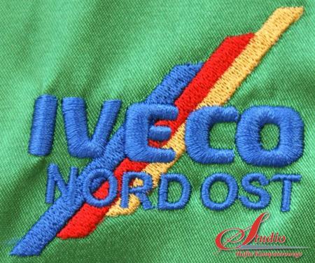 IVECO - haft komputerowy