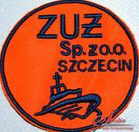 ZUŻ Szczecin - haft komputerowy